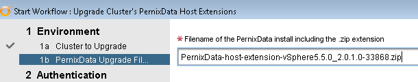 PernixData Upgrade File